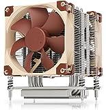 Noctua NH-U9 TR4-SP3, Dissipatore di Calore di qualità Premium per CPU, sTRX4/TR4/SP3 di AMD (92mm, Marrone)