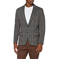 Scotch & Soda Men's Singlbreasted Knitted Check Blazer Casual