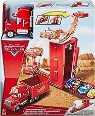 Mattel Disney Cars DVF39 - 3-in-1 Megasprung Mack Spielset