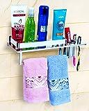LAPO HIgh Grade Stainless Steel Bathroom Shelf/Kitchen Shelf/Bathroom Shelf and Rack/Tumbler Holder/Bathroom Accessories…