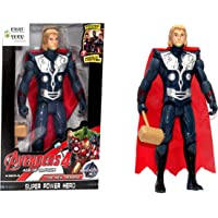 WOW Toys - Delivering Joys of Life|| Big and Realistic Action Figure|| Super Hero Series|| Thor || LED Light || 19 cm