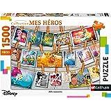 Nathan- Puzzle 1500 pièces Souvenirs d'enfance Disney Adulte
