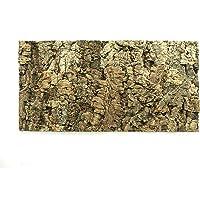 Natural Cork Tile Panel Background Wall 3D Reptile Terrarium Vivarium 60x30 cm