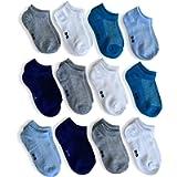 POPYS 12 paia di calzini corti bambino e bambina multicolore