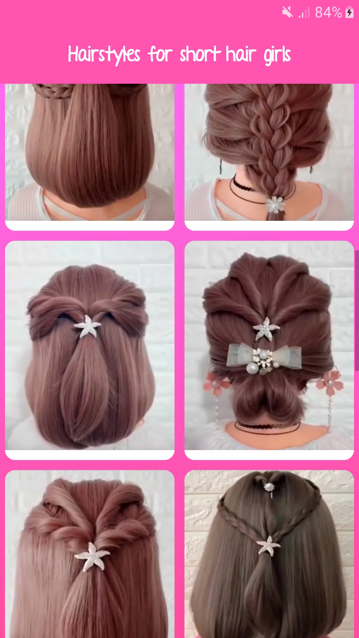 Hairstyles Ideas Step By Step For Girls Amazon Co Uk Appstore For Android