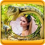 Los marcos de dinosaurio de fotos