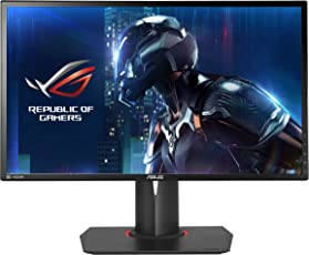 Asus PG248Q 61 cm (24 Zoll) Monitor (HDMI, 1ms Reaktionszeit, 144Hz, Gsync, DisplayPort) schwarz