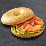 Bagel Nash Frozen Plain Sliced Bagels - 24x85g
