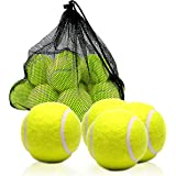 Ocean 8 Training Tennis Balls – Pack Of 6, 12 and 24 – Durable and Reliable Tennis Training Balls – Long-Lasting Bounce – Mul