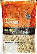 Pro Nature 100% Organic Sonamasoori Rice, Brown, 1kg