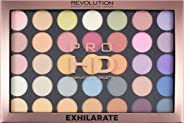 Makeup Revolution Pro HD Amplified 35 Palette (Eyeshadow), Exhilarate, 28g