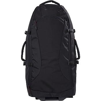 Mountain Warehouse Voyager 50L Wheelie Rucksack - Organiser Pockets, Durable Backpack, Shoulder Straps, Robust Wheels Daysack -For Travelling, Camping, Festivals