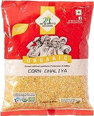 24 Mantra Organic Corn Daliya, 500g