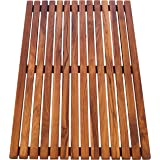 asinox TEK4A5080 douchemat van teakhout, rechthoekig, 80 cm