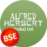 Alfred Herbert (India) Ltd. BSE price