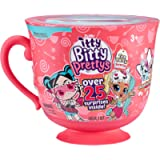 ZURU ITTY BITTY PRETTYS 9703A Party Series 1 Big Tea Cup Playset Rocker & Unicorn, Pink
