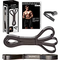 SLOVIC Resistance Band/Pull Up Band/Resistance Bands 42 Inch with Door Anchor for Calisthenics with Physical Booklet…