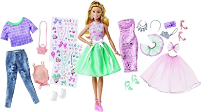 Barbie Fashion Activity Giftset
