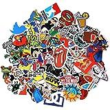 Neuleben Sticker Pack 100-Pcs Adesivi Stickers Vinili per Computer Portatile, Bambini, Automobili, motociclette, Bicicletta,