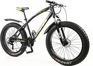 MYTNN Fatbike 26 Zoll 21 Gang Shimano Fat Tyre Mountainbike 47 cm RH Snow Bike Fat Bike