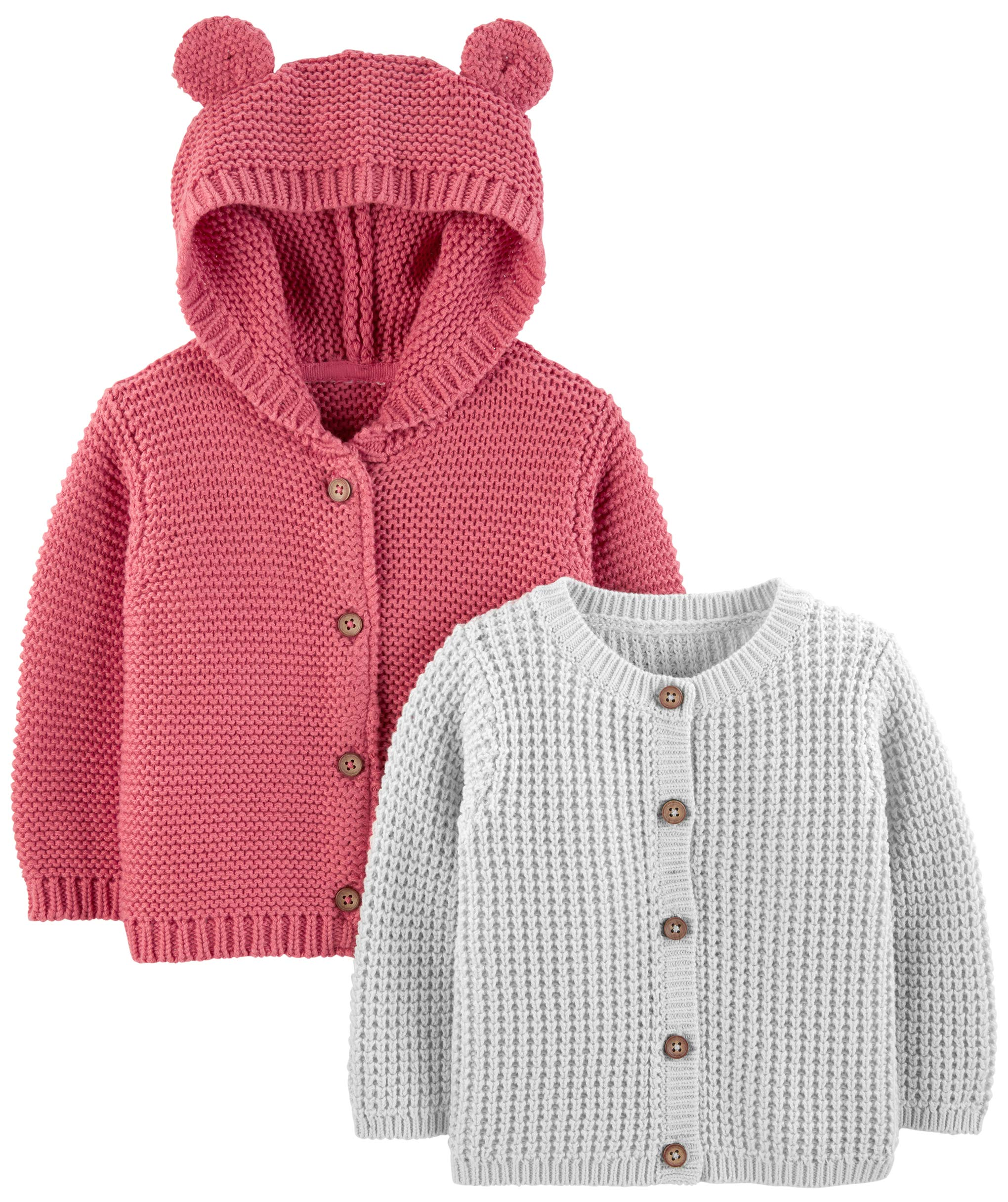Simple Joys by Carter's Baby - Suéter de punto para bebé (2 unidades) 1
