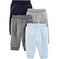 Simple Joys by Carter's Baby Boy's 4-Pack Fleece Pants, Pack of 4