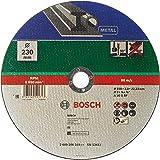 Bosch 2609256319 slijpschijf metaal (voor haakse slijper, diametro 230 mm, recht, a 30 S BF)