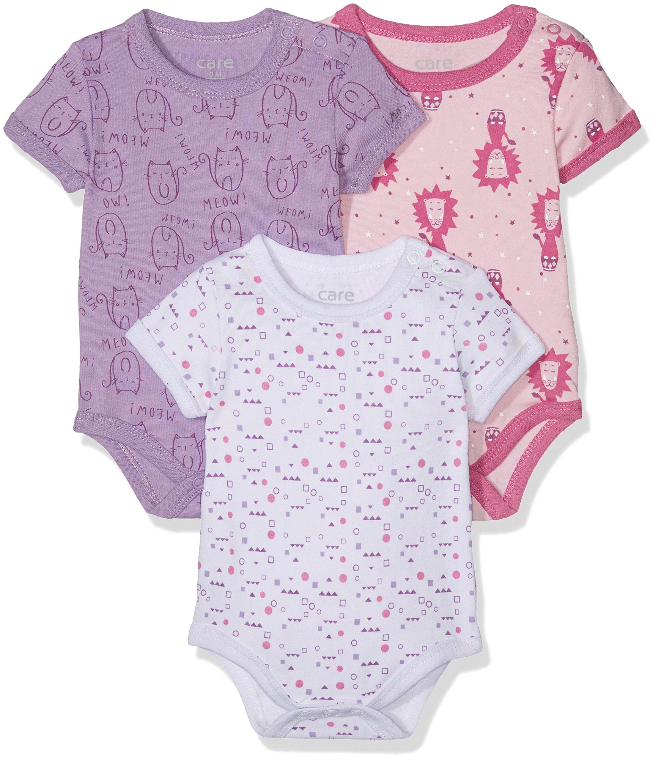 Amazon Exclusiva: Care Body Bebé-Niñas pack de 3 o pack de 6