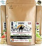 Nabür Encens Oliban d'Éthiopie 200 GR | Nouveaux Grains 2019 - Grade A | Cueillies à La Main | Haute Teneur en H.Essentielle - Bien-être, Santé Cognitive, Sérénité