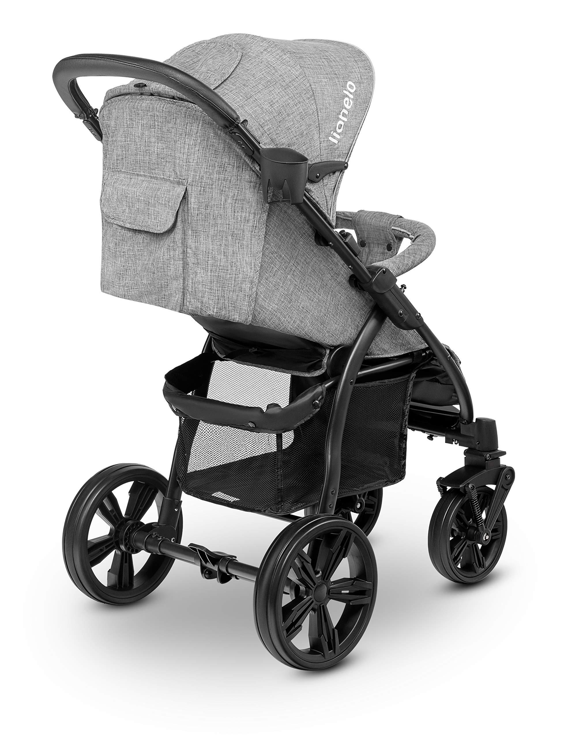 Lionelo 5902581656278 LO-Annet Concrete Stroller Pushchair (Light-Gray)   4