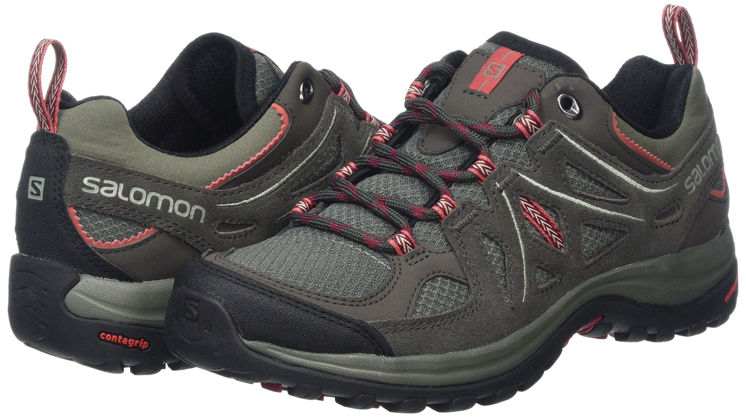 SALOMON Ellipse 2 Aero W, Chaussures de Randonnée Basses Femme