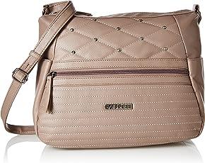 Caprese Pepa Women's Sling Bag (Taupe)