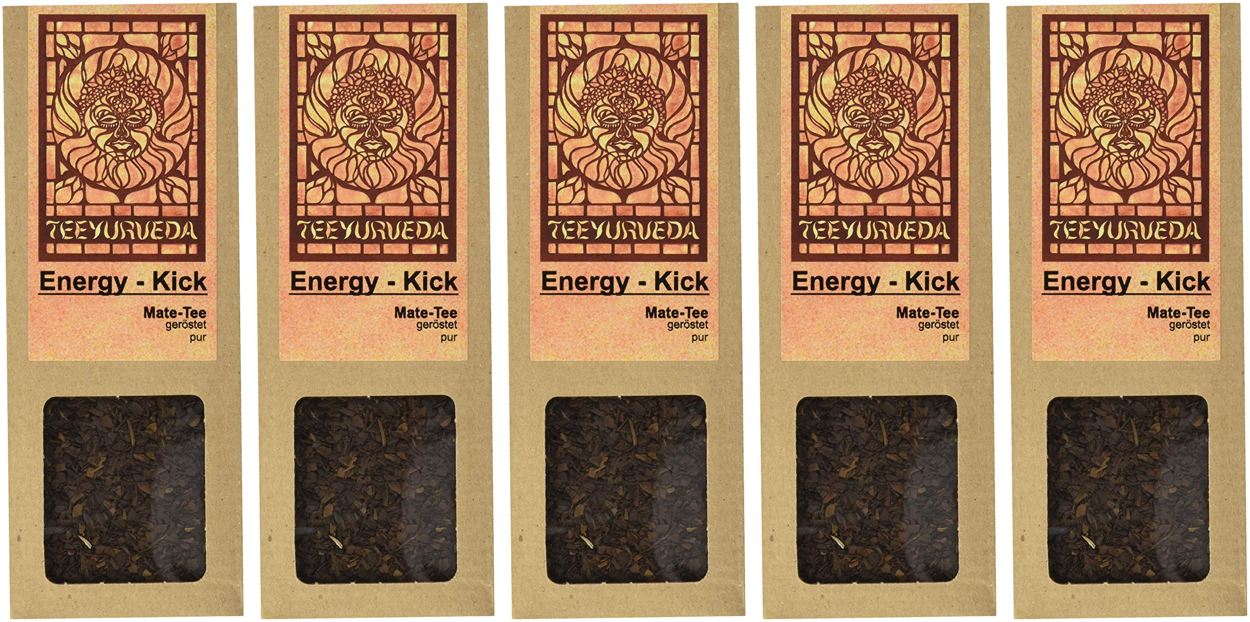 Teeyurveda-Energy-Kick-Mate-geroestet-5er-Pack-5-x-75-g