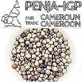 Poivre de PENJA - IGP (Indication Géographique Protégée) - Poivre des oiseaux du Cameroun (BLANC, Papier kraft recyclé 150g)