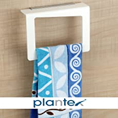 Plantex High Grade Towel Ring / Towel Holder Stand / Napkin Ring / Bathroom Accessories For Home (Square)