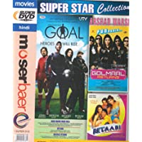 DHAN DHANA DHAN GOAL , BETAABI , GOLMAAL RETURNS 3 Movies In One DVD+Free CD