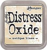Ranger Antique Linen Distress Oxide Ink Pad, Synthetic Material, Beige, 7.5 x 7.5 x 1.9 cm