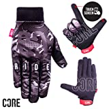 Core Protection Handschuhe, Schwarz-Camo, Large