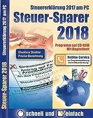 Steuer-Sparer 2018 - Steuererklärung 2017 am PC
