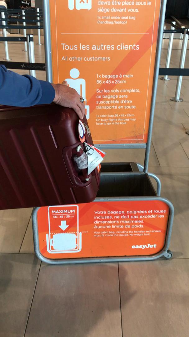 site réputé 95b3f 7bd53 valise easyjet bagage a main