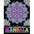 Mandala- Colouring Book for Adults