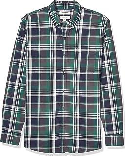 Brand Goodthreads Mens Slim-Fit Long-Sleeve Brushed Flannel Shirt