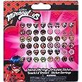 Miraculous Tales of Ladybug & Cat Noir Orecchini Sticker per Bambini, 65984