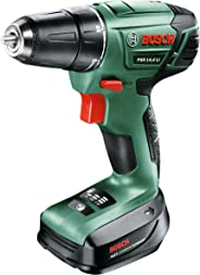 Bosch PSR 14.4 LI Cordless Drill Driver with 14.4 V Lithium-Ion Battery - Green