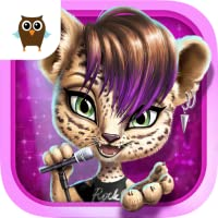 Rock Star Animal Hair Salon - Wild Pets Music Band Concert Makeover