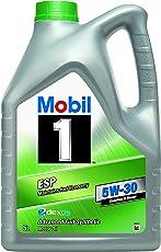 Mobil 1 154296 ESP 5W-30 Hochleistungsmotorenöl, 5 L, 5L