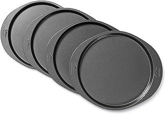 Wilton 2105-0188 Backform, Aluminium, Silber, 20 x 20 x 2 cm, 4 Einheiten