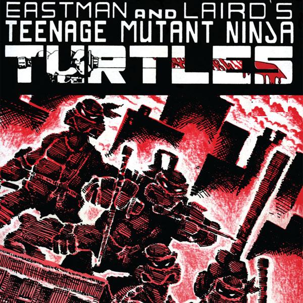 Teenage Mutant Ninja Turtles: Black & White Classics (Collections) (4 Book Series)