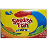 Swedish Fish Assorted Soft & Chewy Candy 3.5OZ (99g)