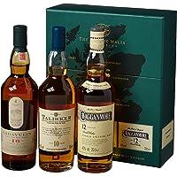Talisker The Classic Malts - Strong Collection: Lagavulin 16, Talisker 10, Cragganmore 12 - Cofanetto regalo, 3 x 200 ml